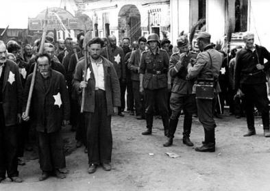Russland, Zwangsarbeit von Juden. Quelle: Wikimedia Commons (CC-BY-SA 3.0) © Bundesarchiv, Bild 101I-138-1083-25/Kessler, Rudolf