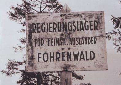DP Camp Föhrenwald bei Wolfratshausen, © Stadtarchivs Wolfratshausen