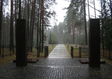 Katyn Memorial (including Polish War Cementery) photographs taken on 10 November 2013 trip during a 2013 Wiki conference in Smolensk.