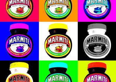 Marmite Pop art