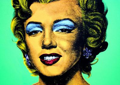 """""""In a Season of the Old Me"""", Popart"""