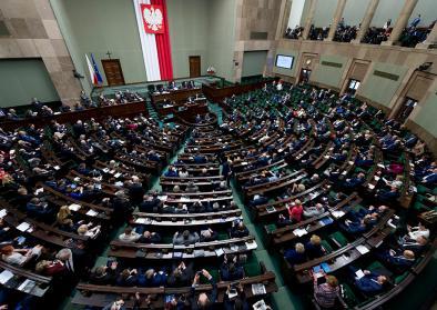 Sejm in Warschau
