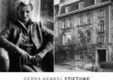 Links: Lisa Maskell (1914-1998), Gründerin der Gerda Henkel Stiftung Rechts: Das Haus der Stiftung in der Malkastenstraße