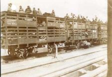 Anatolischen Bahn, um 1915. ©  Deutsche Bank, Historisches Institut. Quelle: Wikimedia Commons (gemeinfrei)
