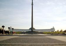 The museum of the History of the Great Patriotic war on the Poklonnaya mountain, Moscow, Russia.