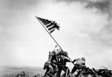 Flag Raising on Iwo Jima, Joe Rosenthal, Associated Press, February 23, 1945