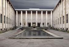 Das Hauptgebäude des Nationalmuseums in Warschau