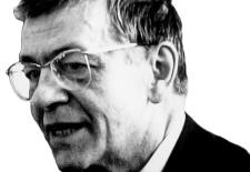 """Peter Weiss, 1982 © Dietbert Keßler, Quelle: Wikimedia Commons/ user ÇaCestCharabia """"Peter_Weiss_1982.jpg"""" (CC)"""