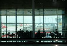 Abflughalle Istanbul-Atatürk nach Berlin