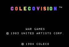 Startbildschirm von WarGames