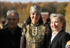 U.S. Secretary of State Hillary Clinton Besuch in Tatarstan vom 14 October 2009