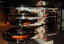 Filmteller für 70mm-Film in einem IMAX-Theater