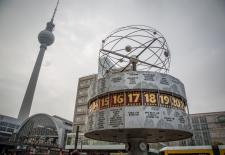 Weltzeituhr am Alexanderplatz