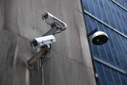 Surveillance in NYC's financial district