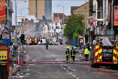 London Riots, Croydon