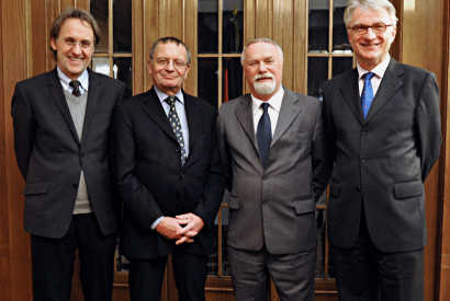 Gruppenbild der Historikerkommission des BND