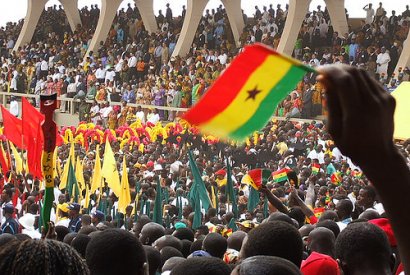 © Oluniyi Ajao | flickr CC BY 2.0. Titel: Ghana's 50th Independence Anniversary national parade. (Golden Jubilee)
