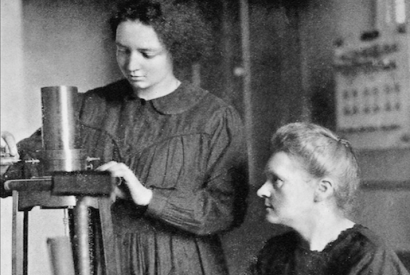 Foto: Marie Curie and her daughter Irene, 1925.