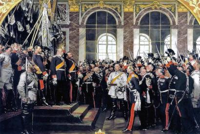 Proklamation des preußischen Königs Wilhelm I. am 18. Januar 1871 zum Deutschen Kaiser