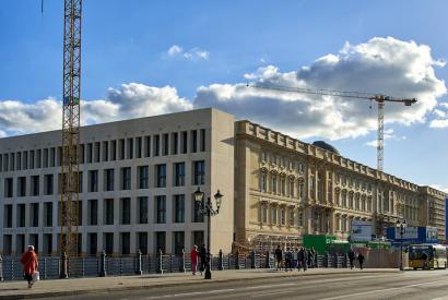 Humboldt-Forum und Stadtschloss in Berlin