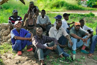 Ehemalige DDR-Vertragsarbeiter:innen, sogenannte Madgermanes, in Beira, Mosambik