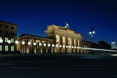 Lichtgrenze Brandenburger Tor, 2014