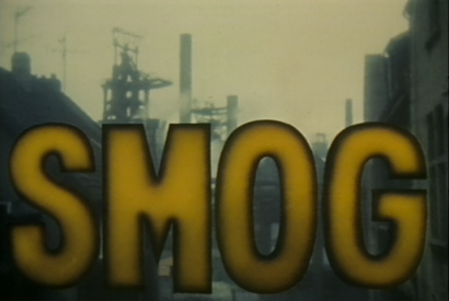 SMOG - Schriftzug