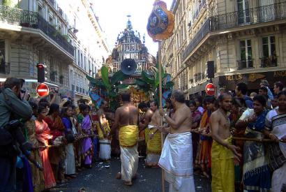 Tamilisches Fest in Paris