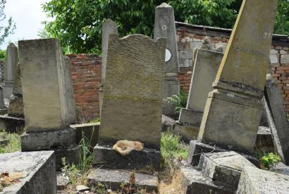 Der Jüdische Friedhof von Vălcineţ, 13. Juni 2017, © Maren Röger