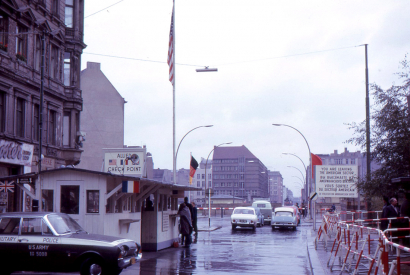 Checkpoint Charlie was on Friedrichstrasse, near Kochstrasse. It was the only crossing between West Berlin and East Berlin that could be used by Americans and other foreigners, and by members of the Allied Forces. The other six checkpoints were for reside