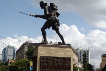 Askari Monument to World War I African Soldiers