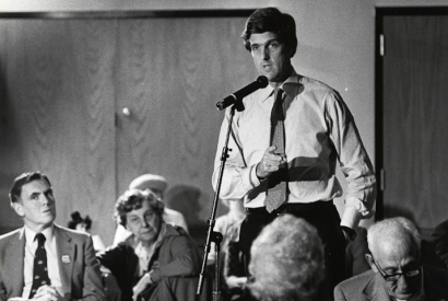 John Kerry 1984 in Boston