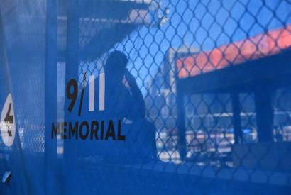 9/11 memorial, Foto: Marco, aufgenommen am 5. April 2012