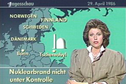 Tagesschau vom 29. April 1986