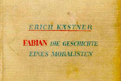 Cover des RomansFabianvonErich Kästner