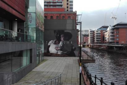 """Wandgemälde """"Peterloo"""" Axel Void Manchester"""