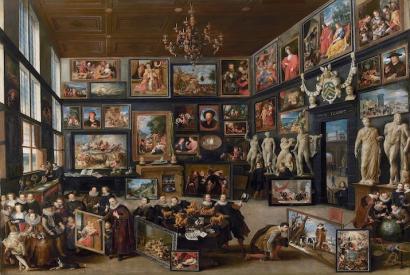 Willem van Haecht, The Gallery of Cornelis van der Geest (1628)