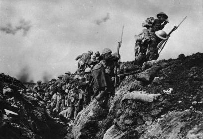 Kanadische Truppen an der Somme, 1916