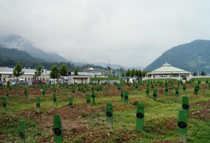 © Srebrenica Genocide Memorial | Mit freundlicher Genehmigung von Benjamin Köhler (2006)
