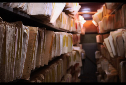 Medical History Files in a Venzuelan Archive