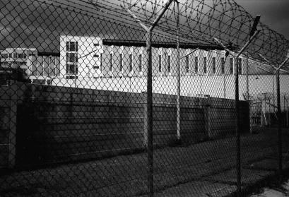 Foto der Justizvollzugsanstalt Stuttgart-Stammheim, 1997