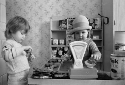 Kindergarten, Kinder beim Spiel ADN-ZB/Ludwig/18.2.88/Bez. Erfurt