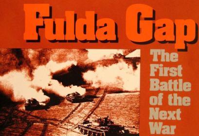 """Deckel des Brettspielkartons von """"Fulda Gap"""" (Ausschnitt)"""
