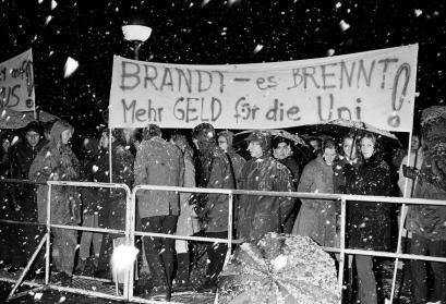 Studentendemonstration in Bonn, 1969
