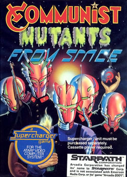 "Coverart von ""Communist Mutants from Space (1982)"""