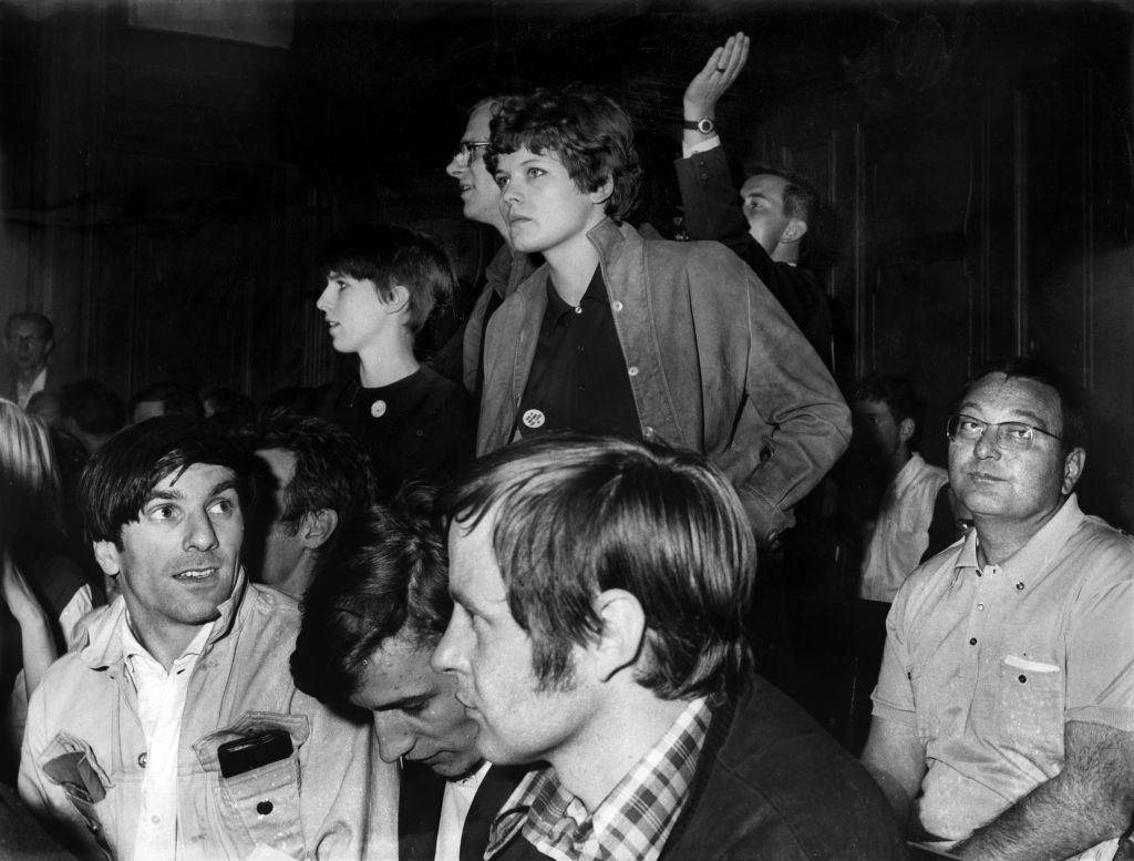 Rudi Dutschke im Kontext der Studentenrevolte 1967/68, West-Berlin